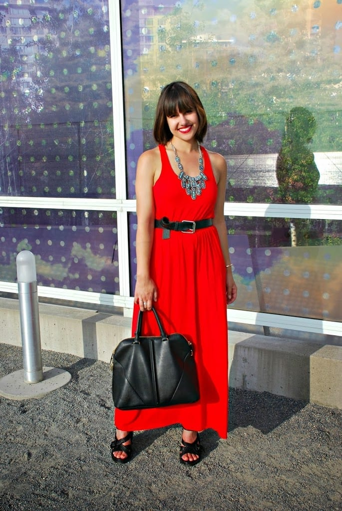 red dress to wear to a wedding