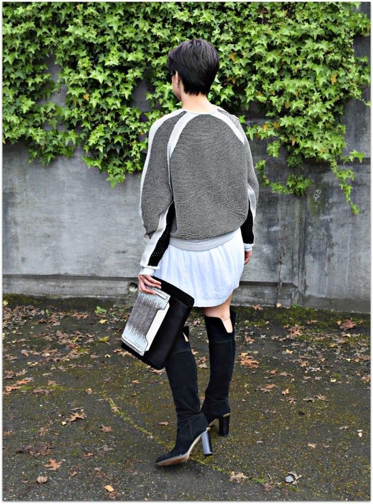 Helmut Lang Convergent Sweater Seattle Blogger