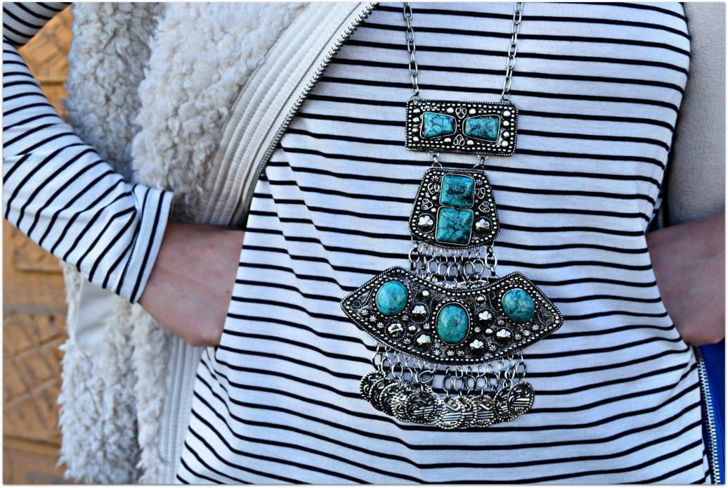 raga turqoise necklace