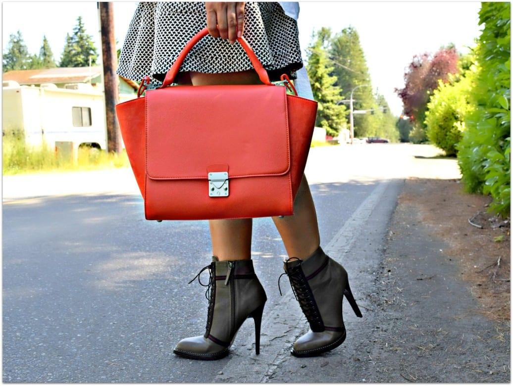 Red Zara Handbag