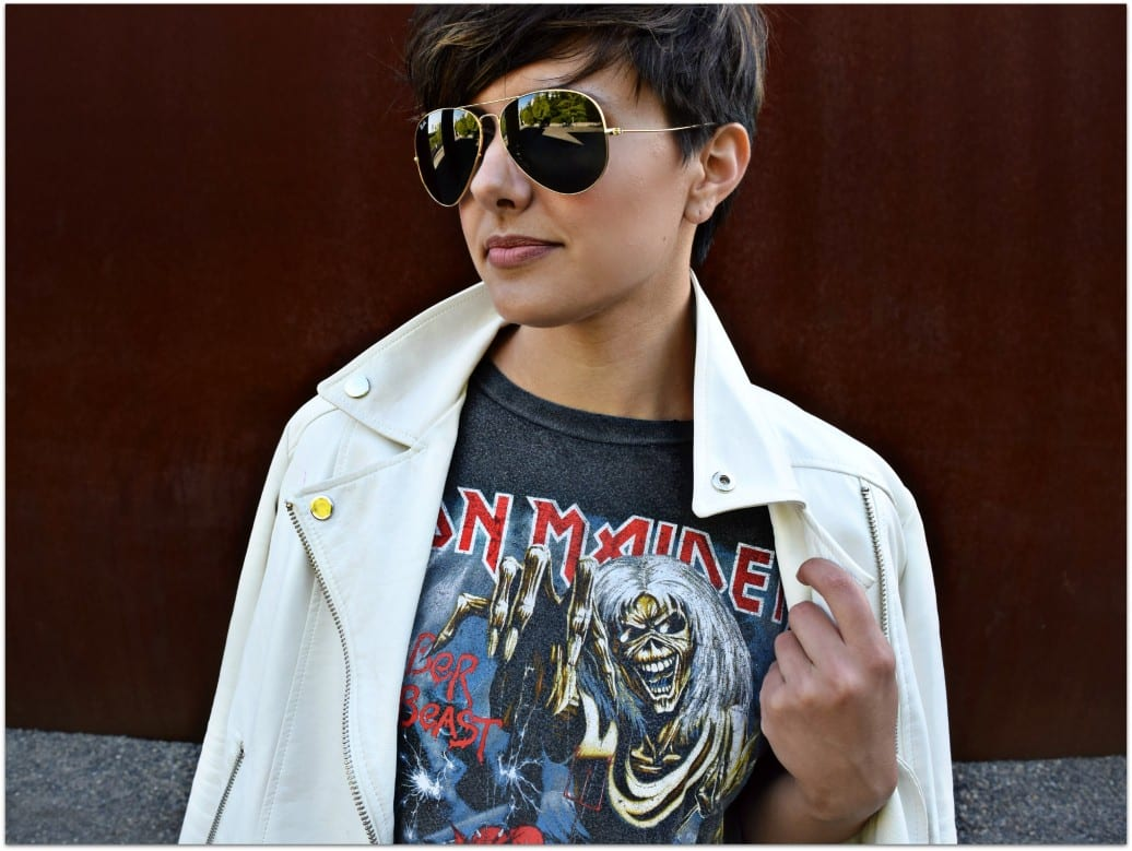 Iron Maiden Tee by And Finally