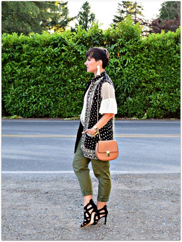 Zara Moroccan vest
