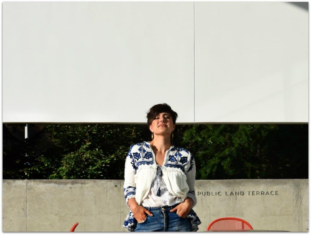 Zara Embroidered Fringe White Jacket Top