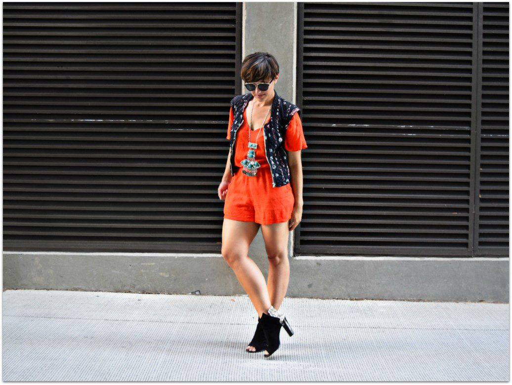 Seattle Fashion Blogger Orange