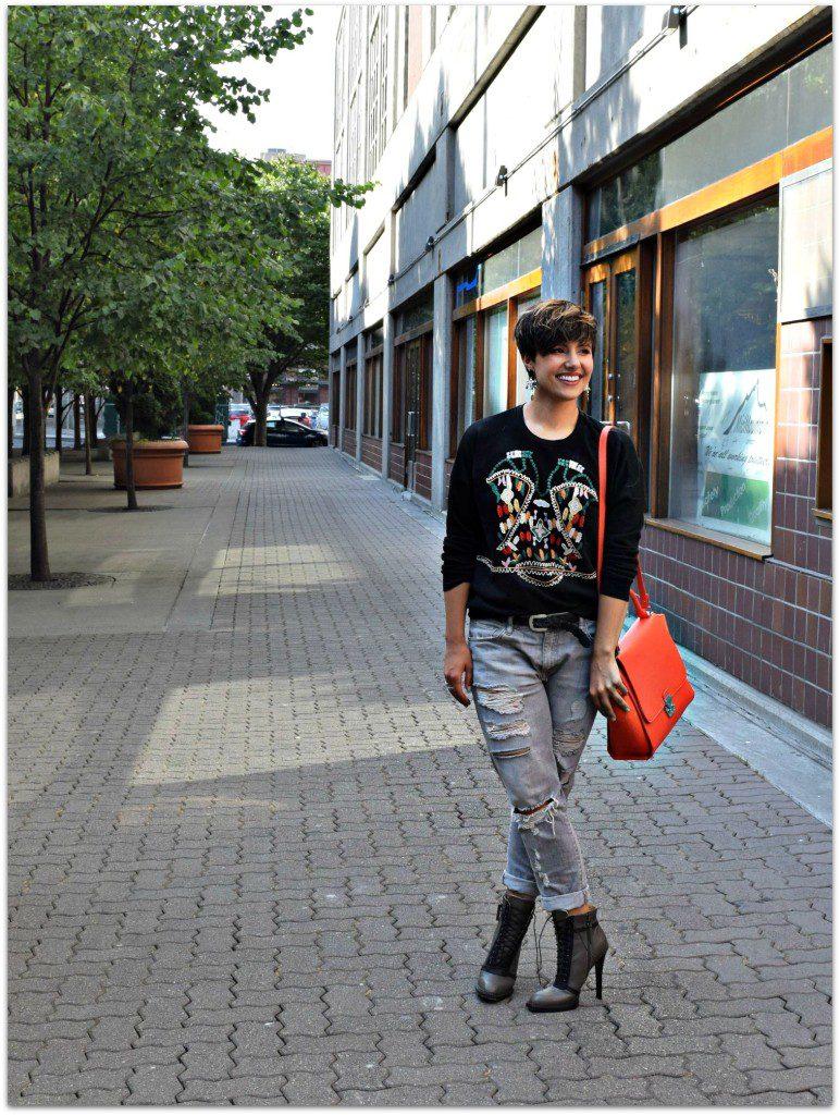 Zara Embroidered Sweatshirt