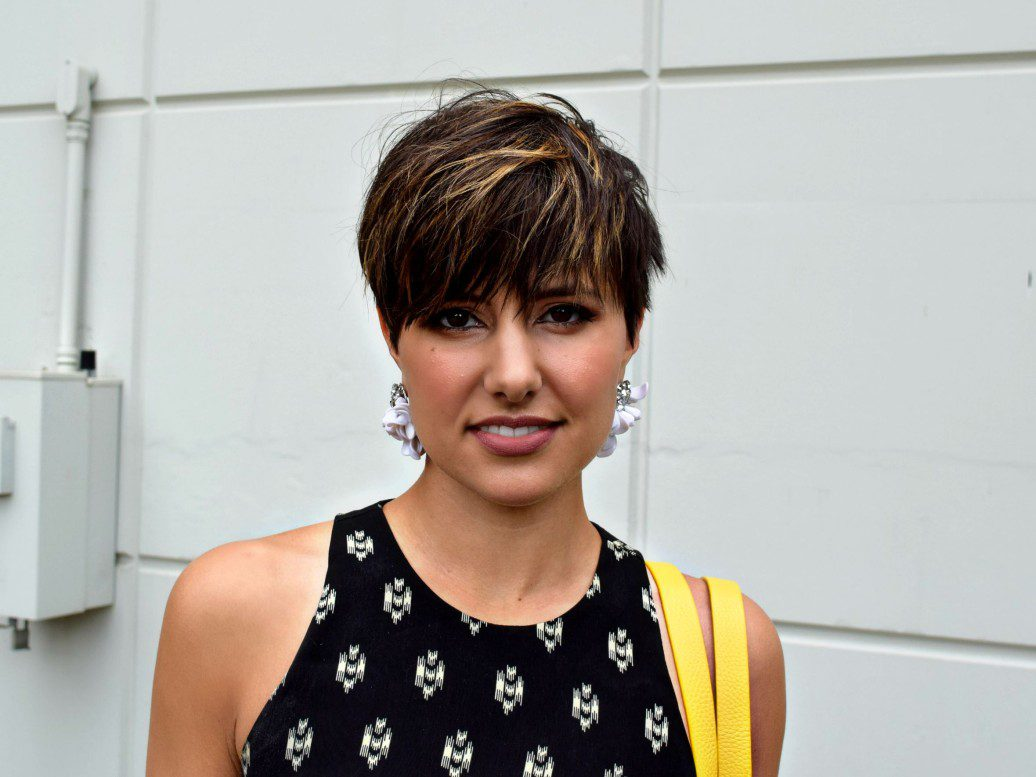 Short Hair Pixie Cut Ombre Seattle Blogger