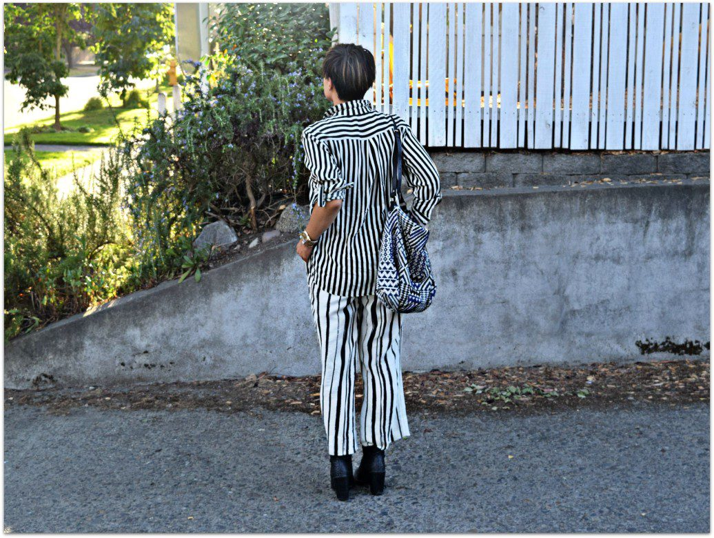 Stripes on Stripes Seattle Blogger