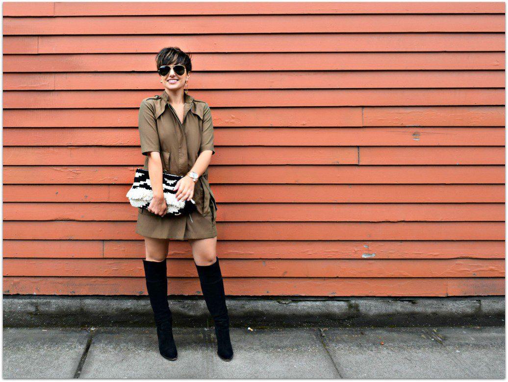 Zara Trench Burberry Inspired Dress