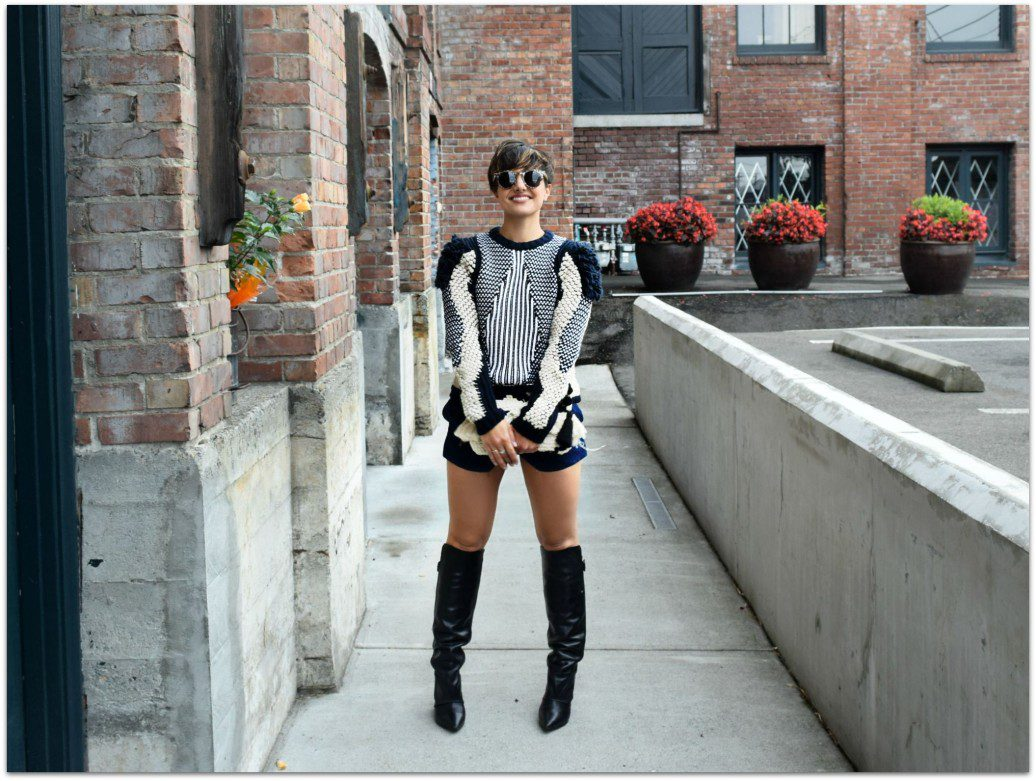 & other Stories Sweater NYFW streetstyle