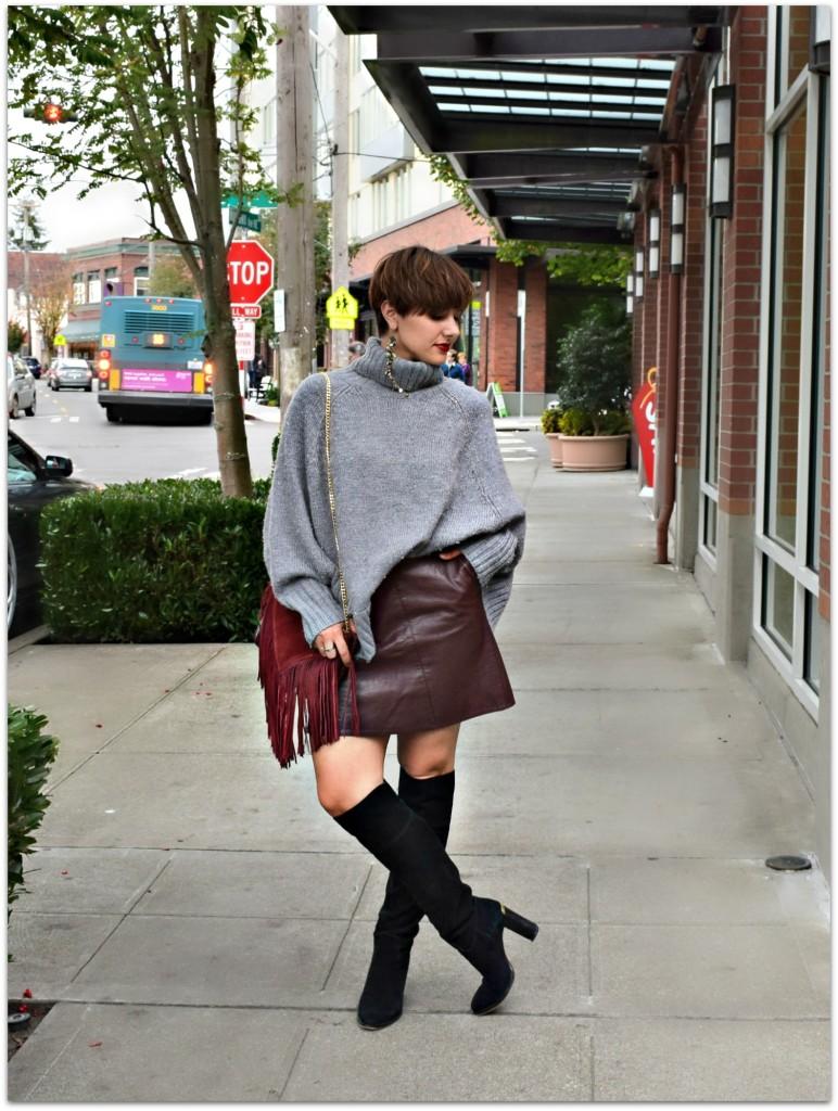 Sweater + Skirt Season - BloggerNotBillionaire