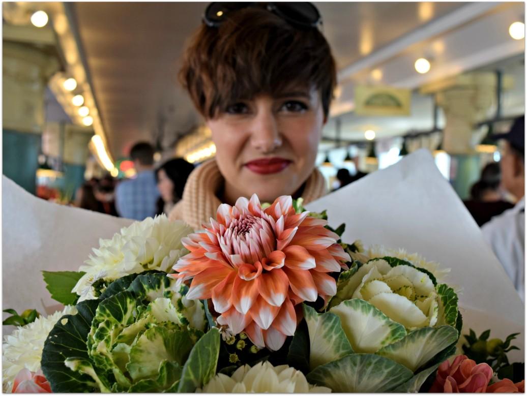 Pikes Place Flowers BloggerNotBillionaire