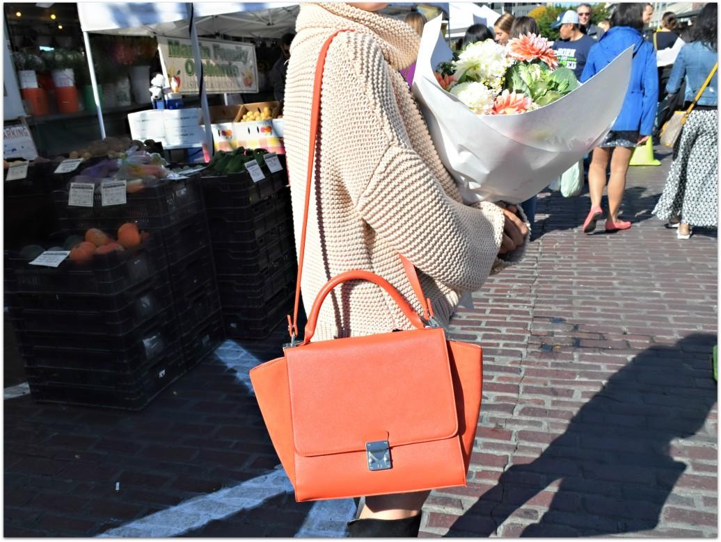 Red Zara Celine Bag BloggerNotBillionaire