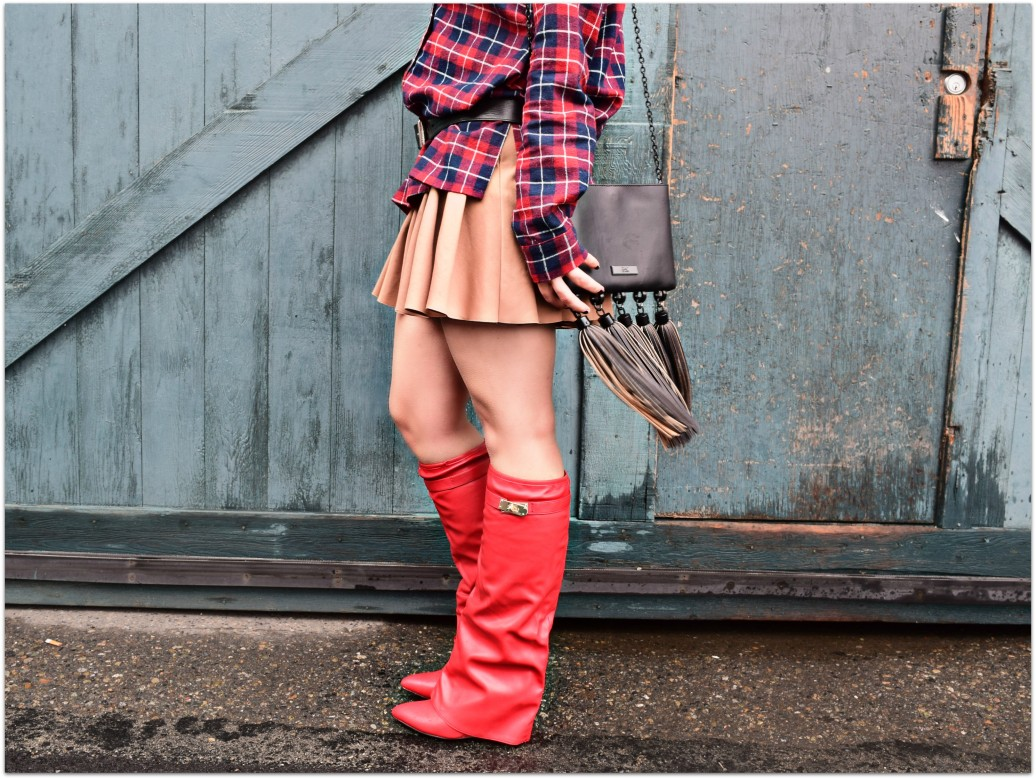 Givenchy Shark Boot Knockoffs Red