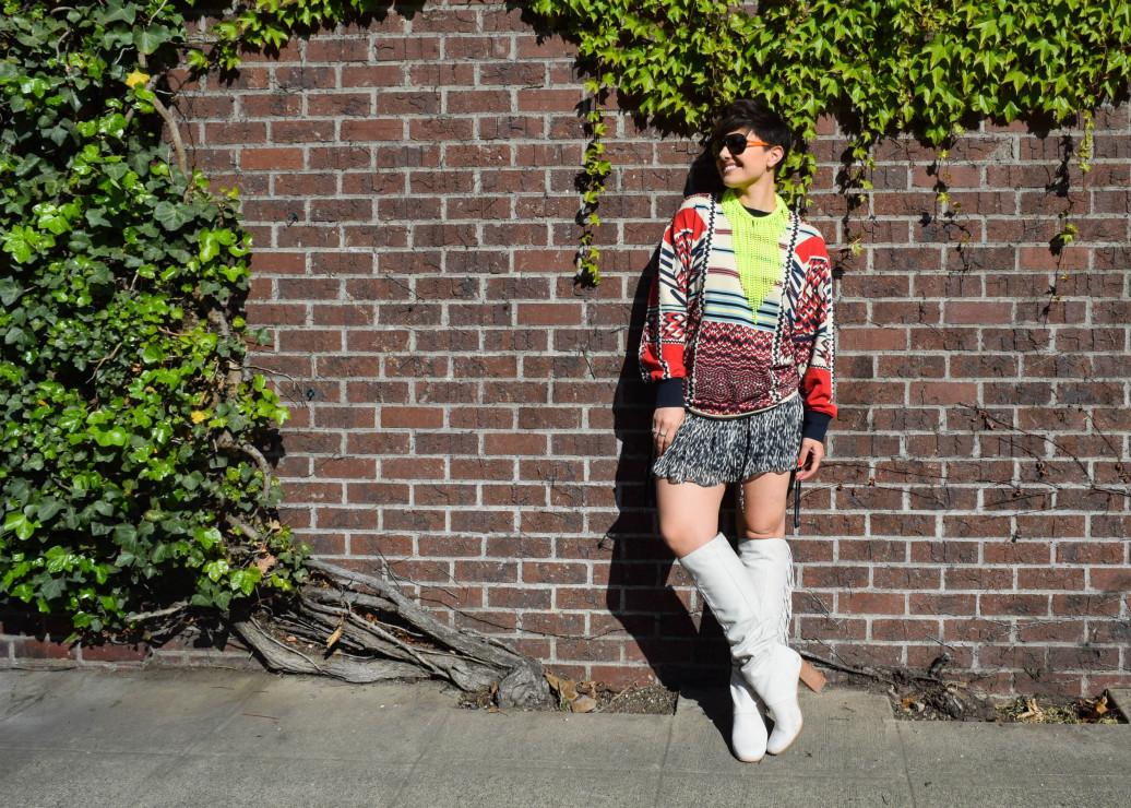 Sam Edelman Taylan Boot outfit