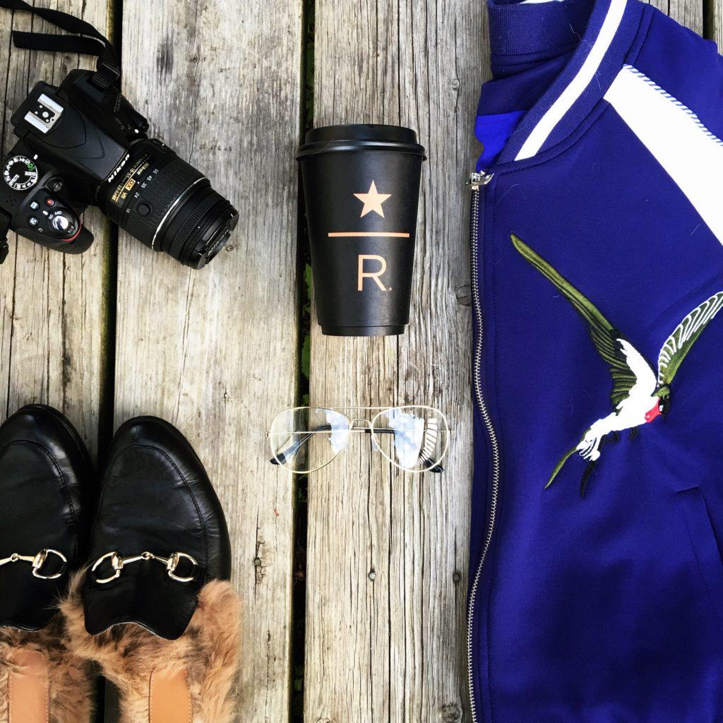 Gucci Loafers Bird Bomber Flatlay BloggerNotBillionaire