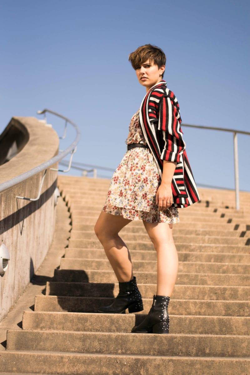 Mixing Prints: Stripes and Florals -BloggerNotBillionaire
