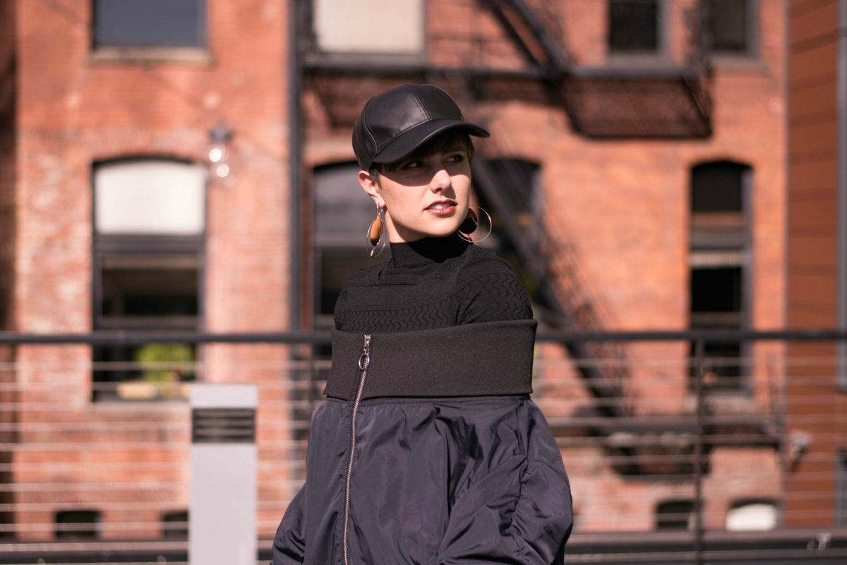 How to Wear a Leather Baseball Cap -Blogger Not Billionaire