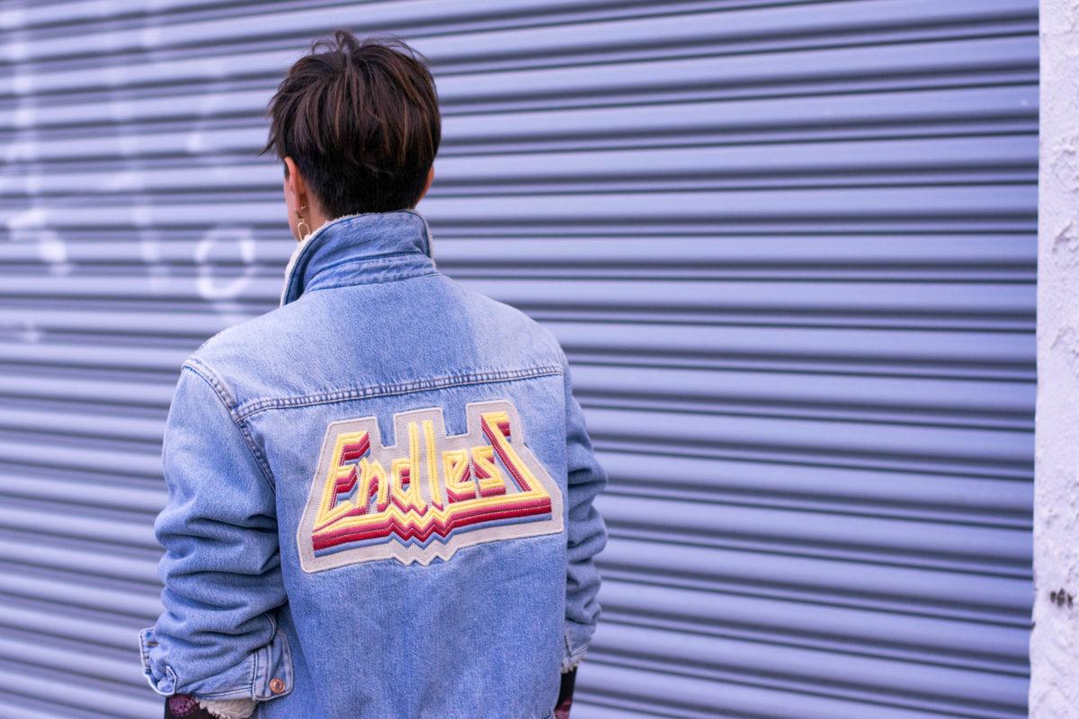 Endless Denim Shearling Jacket-Etoile Isabel Marant