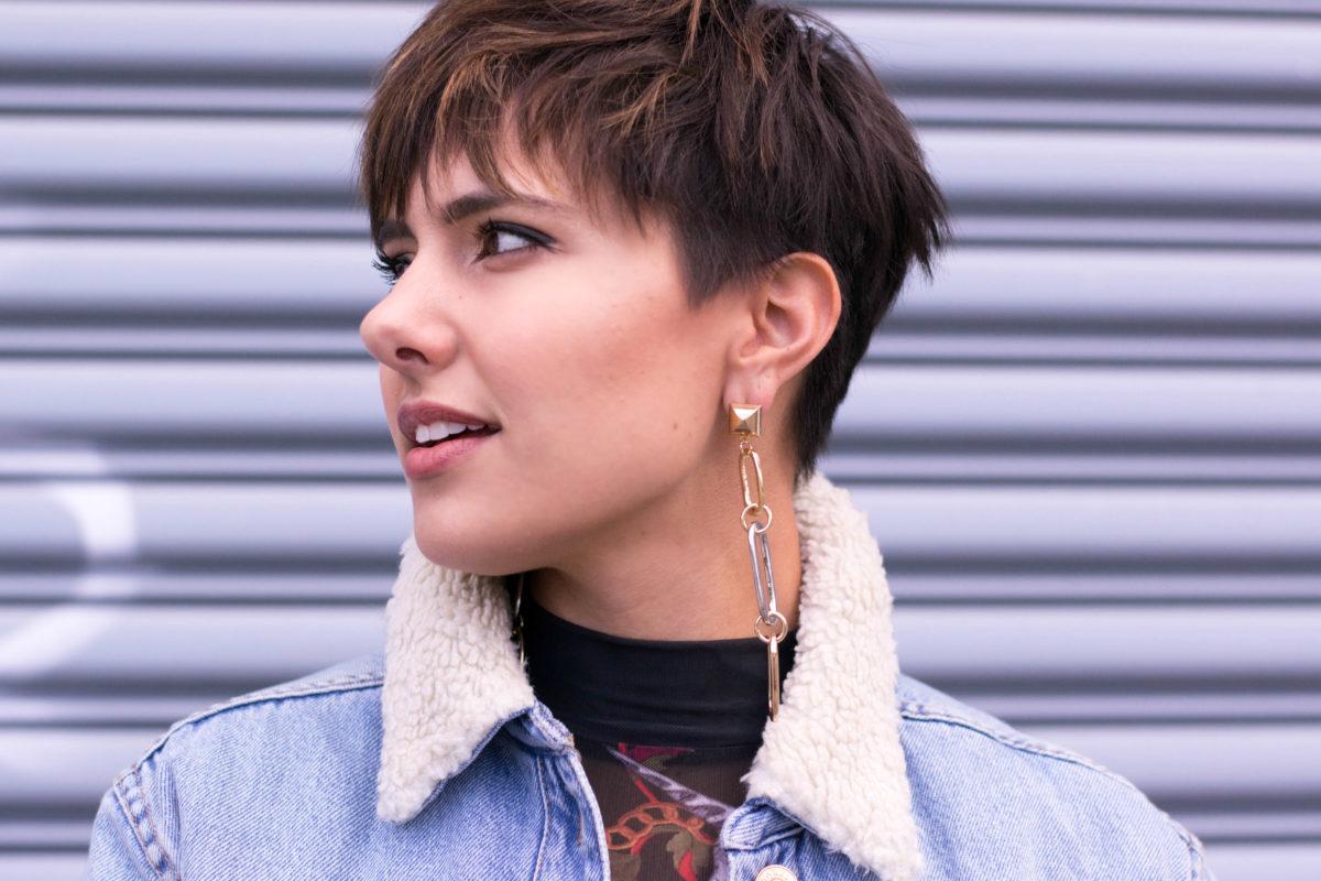 ASOS Alexander Wang Inspired chain earrings