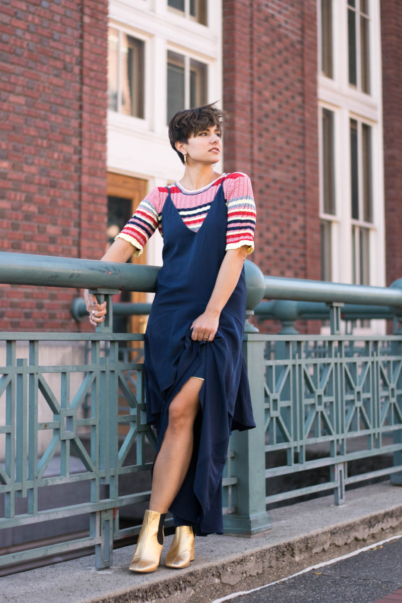 Transitioning Your Summer Dresses Into Fall Using Fall's Best Layering Trends- BloggerNotBillionaire.com