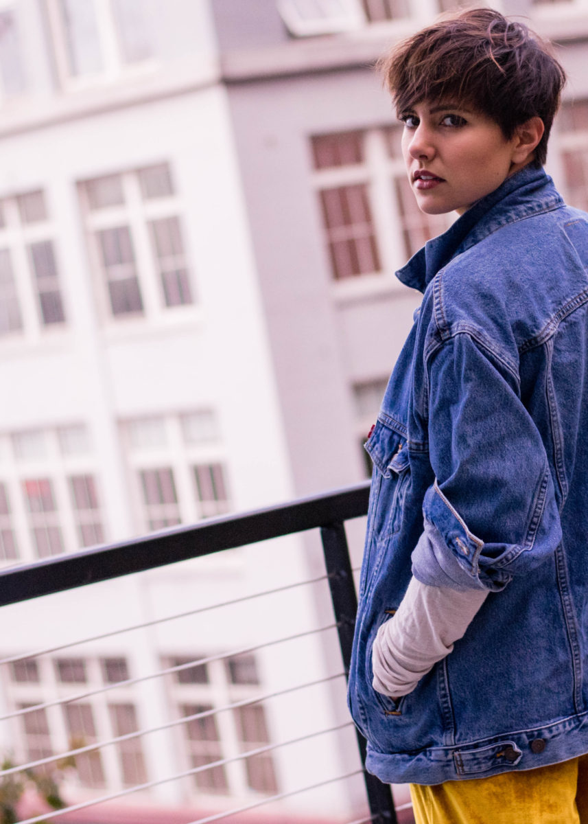 Vintage Levis Denim Jacket-BloggerNotBillionaire