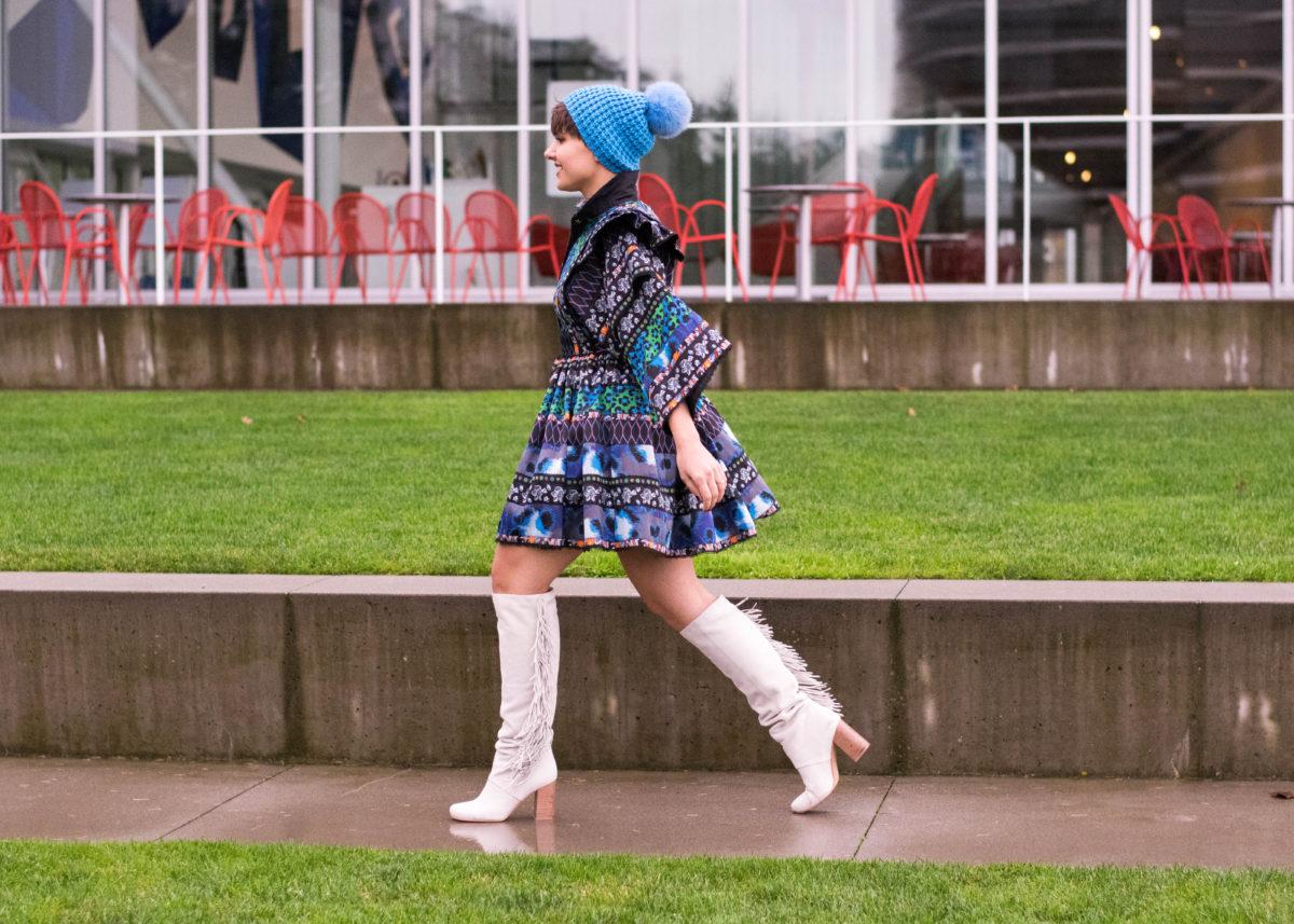 KenzoXH&M Dress- BloggerNotBillionaire