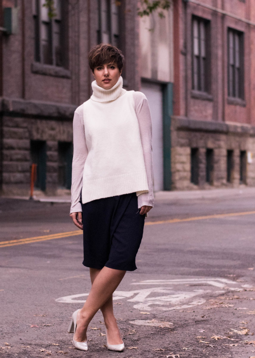 2 Tricks for Wearing Fall Items Even When It's Warm Out- BloggerNotBillionaire