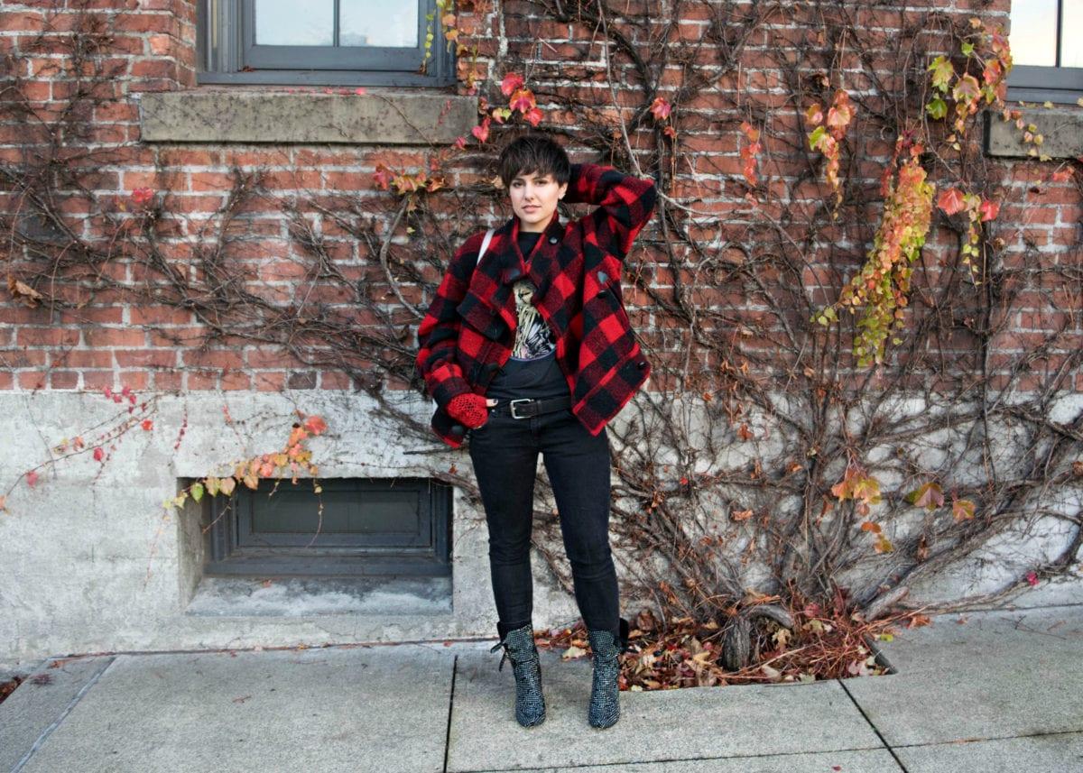 Isabel Marant Etoile Buffalo Check 'Fred' Jacket- BloggerNotBillioanaire.com