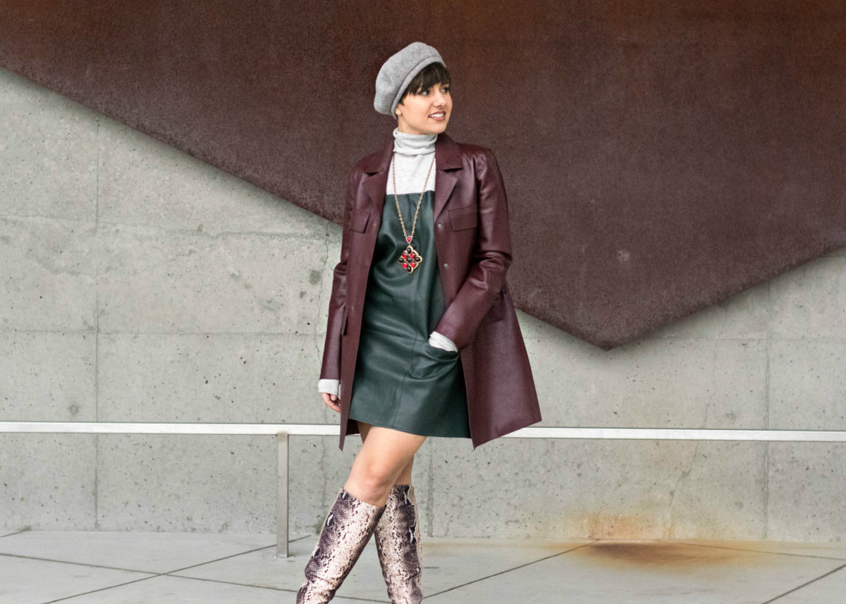Leather on Leather- Feminist style- BloggerNotBillionaire.com