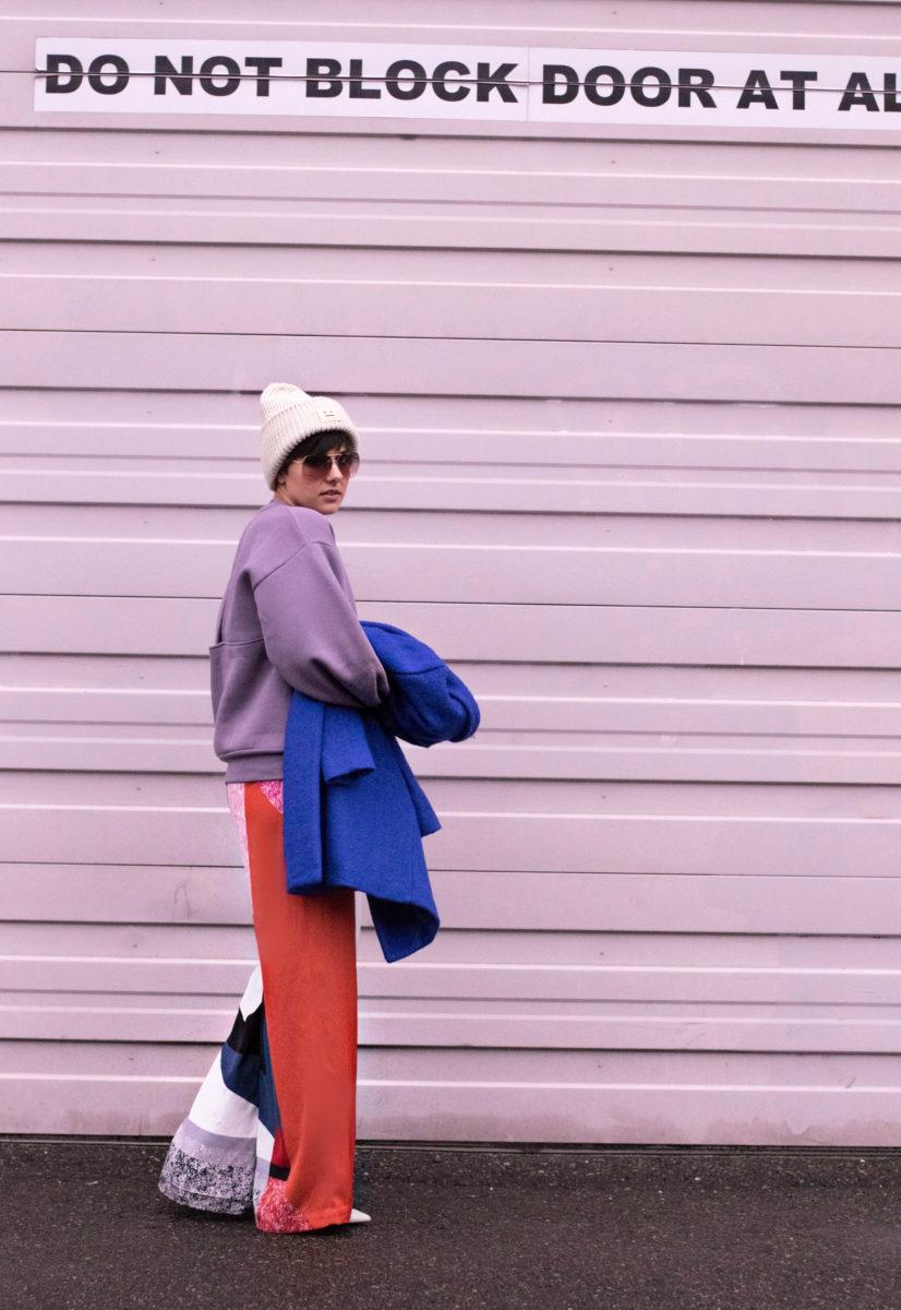 London Fashion Week Street Style Fall 17