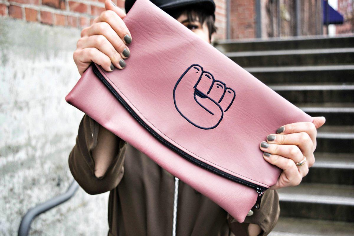 Anguay Reed Designs -Revolution Clutch- BloggerNotBillionaire.com