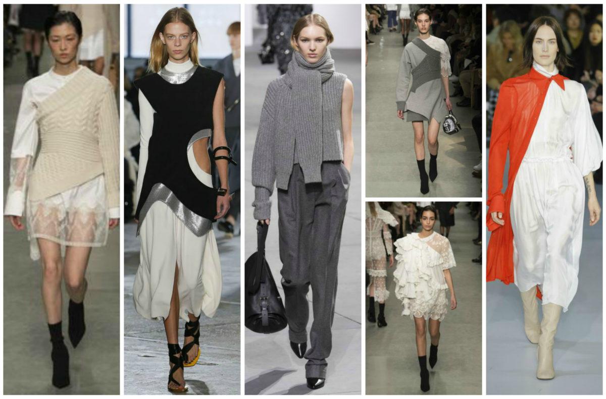 4 Emerging Trends From Fall 2017 Fashion Week-Asymmetrical Layering- BloggerNotBillionaire