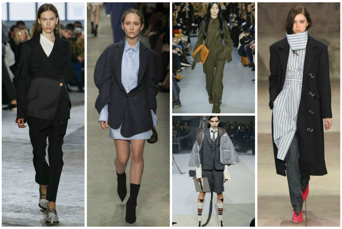 4 Emerging Trends From Fall 2017 Fashion Week- Reworked Suiting- BloggerNotBillionaire
