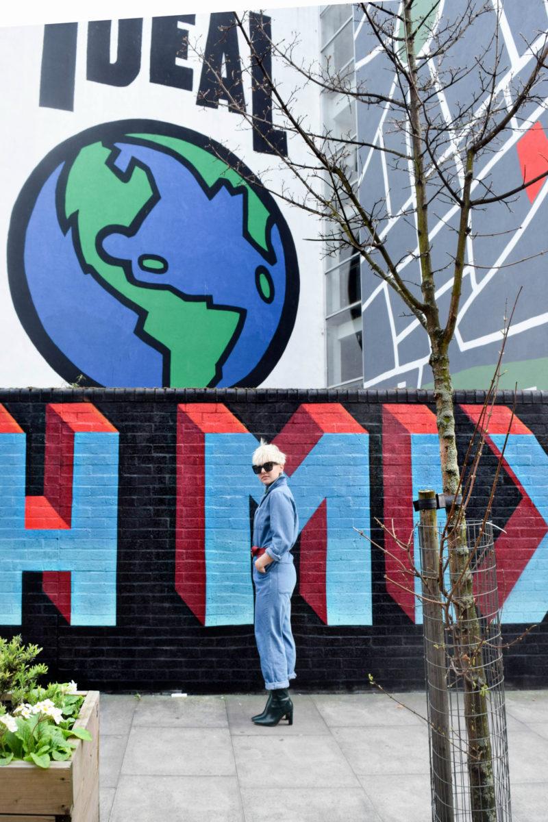 London Volume 1: Shoreditch, Banksy and a Denim Boilersuit - BloggerNotBillionaire.com