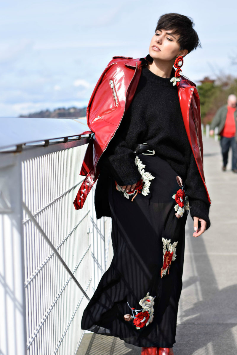 Seeing Red: The Breakout Color from Fall 2017 Fashion Week- BloggerNotBillionaire