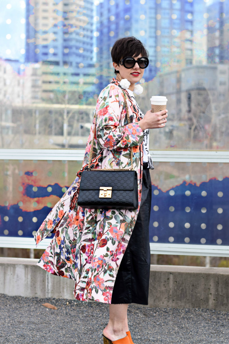 This Kimono is Ready For Spring: A Fashion Indulgent Outfit - Gucci- BloggerNotBillionaire.com