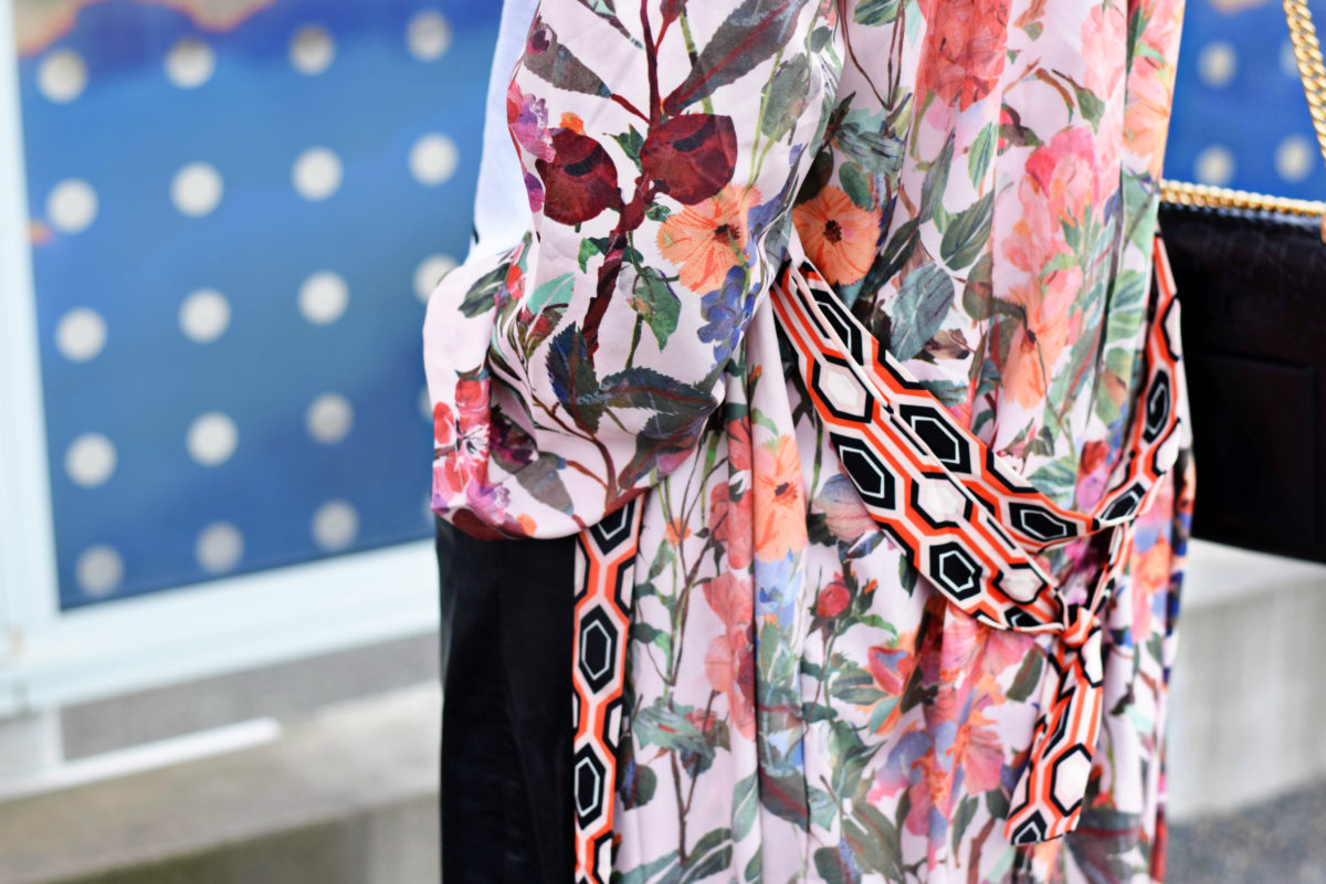 Floral & Geometric Kimono-Blogger Not Billionaire
