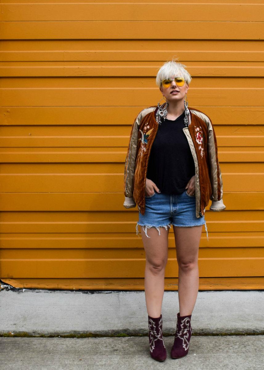 Festival Ready- 3 New Ways to Wear Your Bomber Jacket for 2017 - BloggerNotBillionaire.com