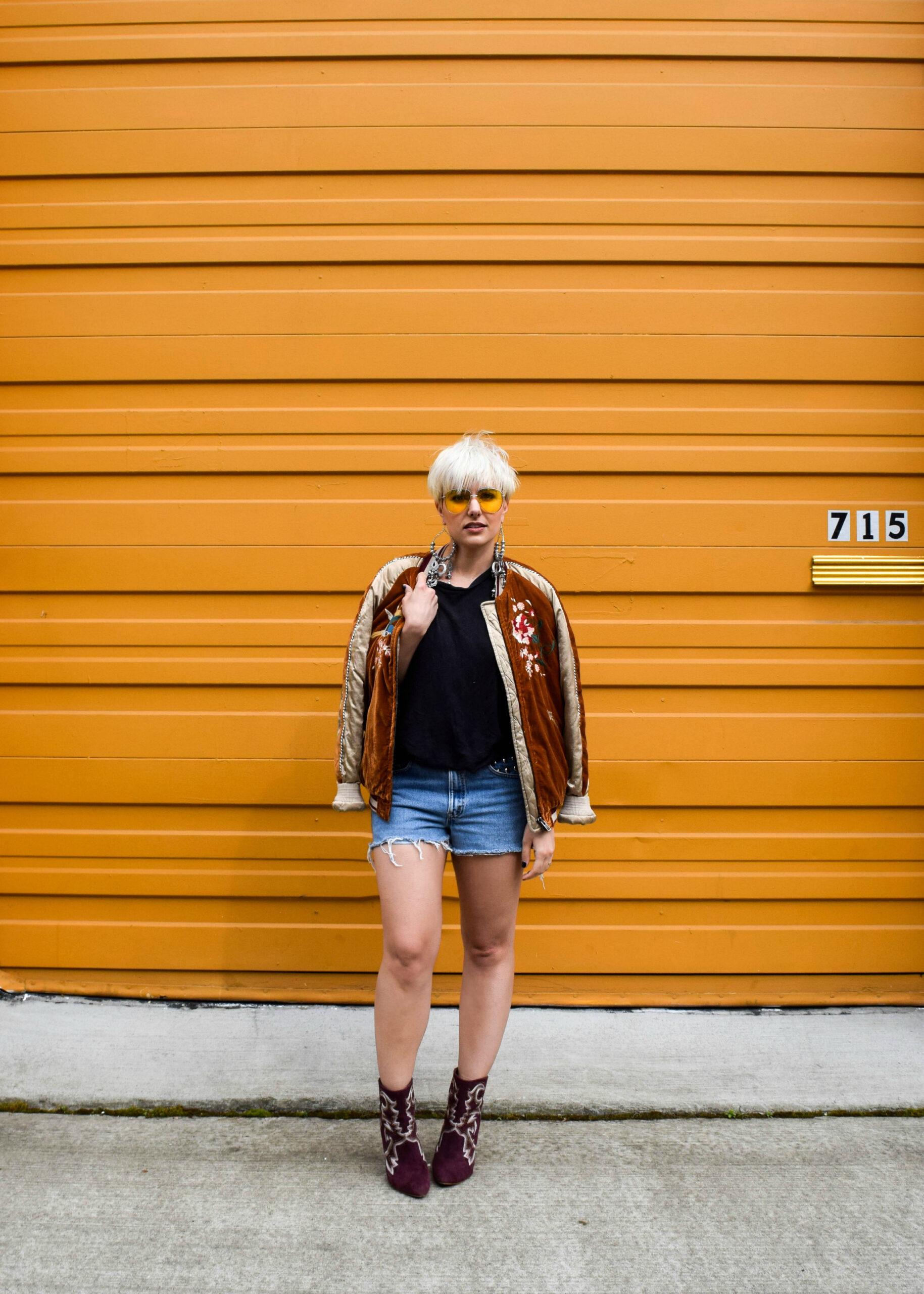 Festival Ready 3- 3 New Ways to Wear Your Bomber Jacket for 2017 - BloggerNotBillionaire.com
