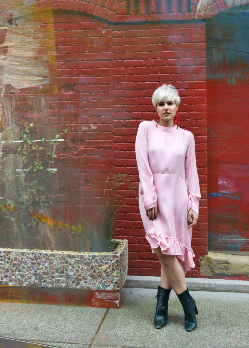 Becoming the Type of Person Who Wears Pink : The Millenial Pink Revolution- BloggerNotBillionaire.com