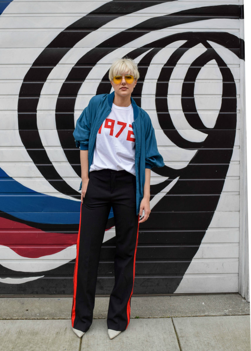 The Retro Look- 3 New Ways to Wear Your Bomber Jacket for 2017 - BloggerNotBillionaire.com