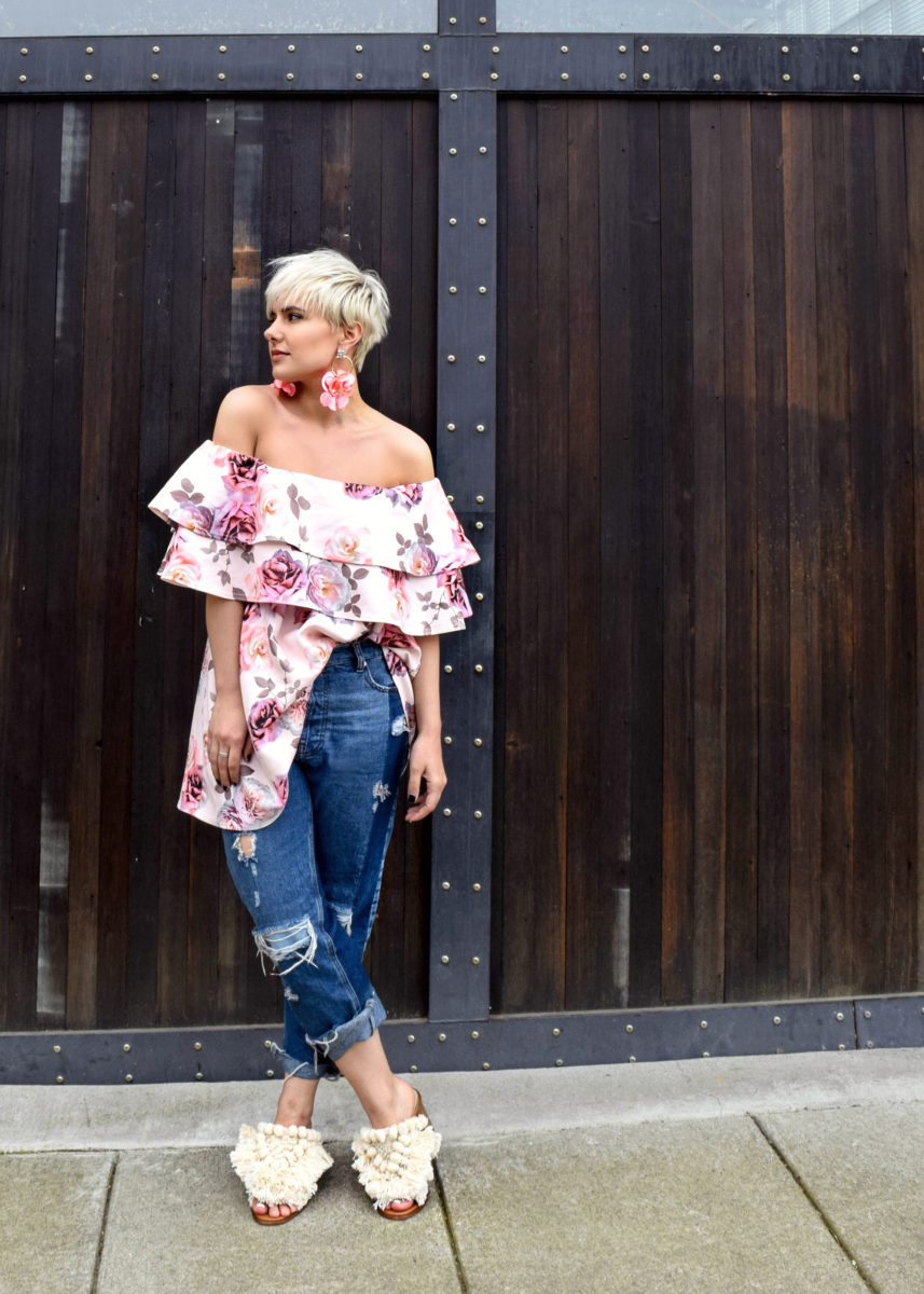 How to Re-Wear Your New Party Dress Using Your Favorite Pair of Jeans - BloggerNotBillionaire.com