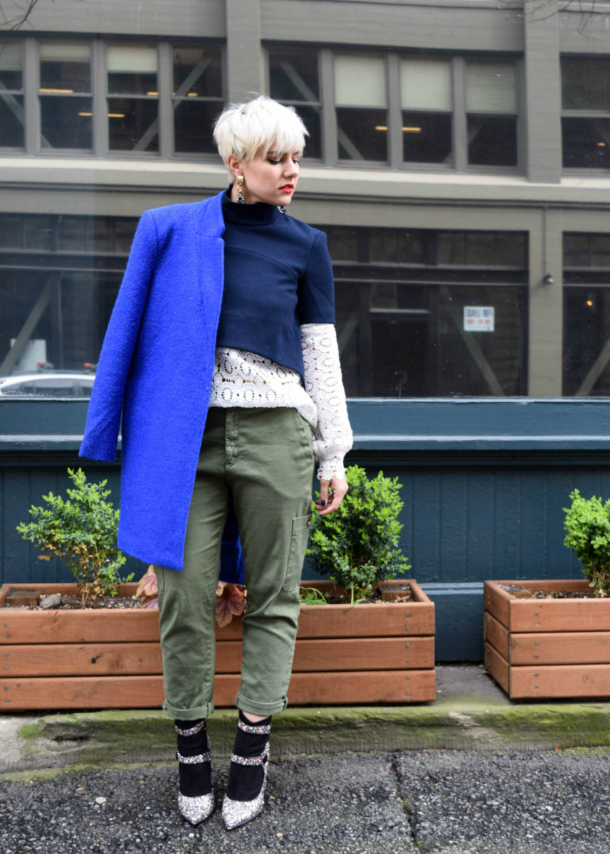 Army Green Goes with Everything - 13 Fashion Rules we Learned from Jenna Lyons - BloggerNotBillionaire.com