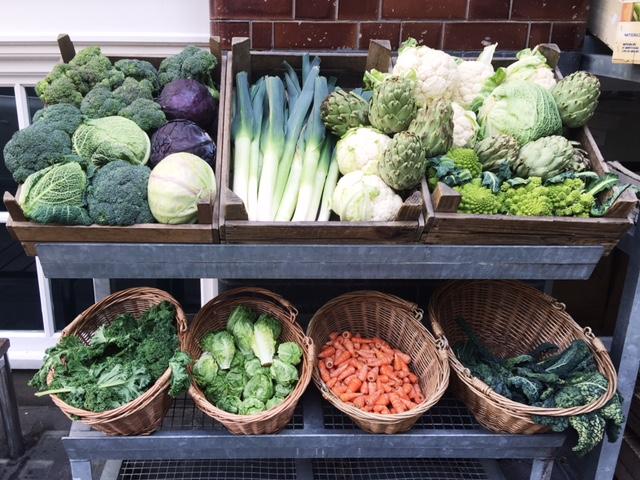 Fresh Vegetables London- BloggerNotBillionaire.com