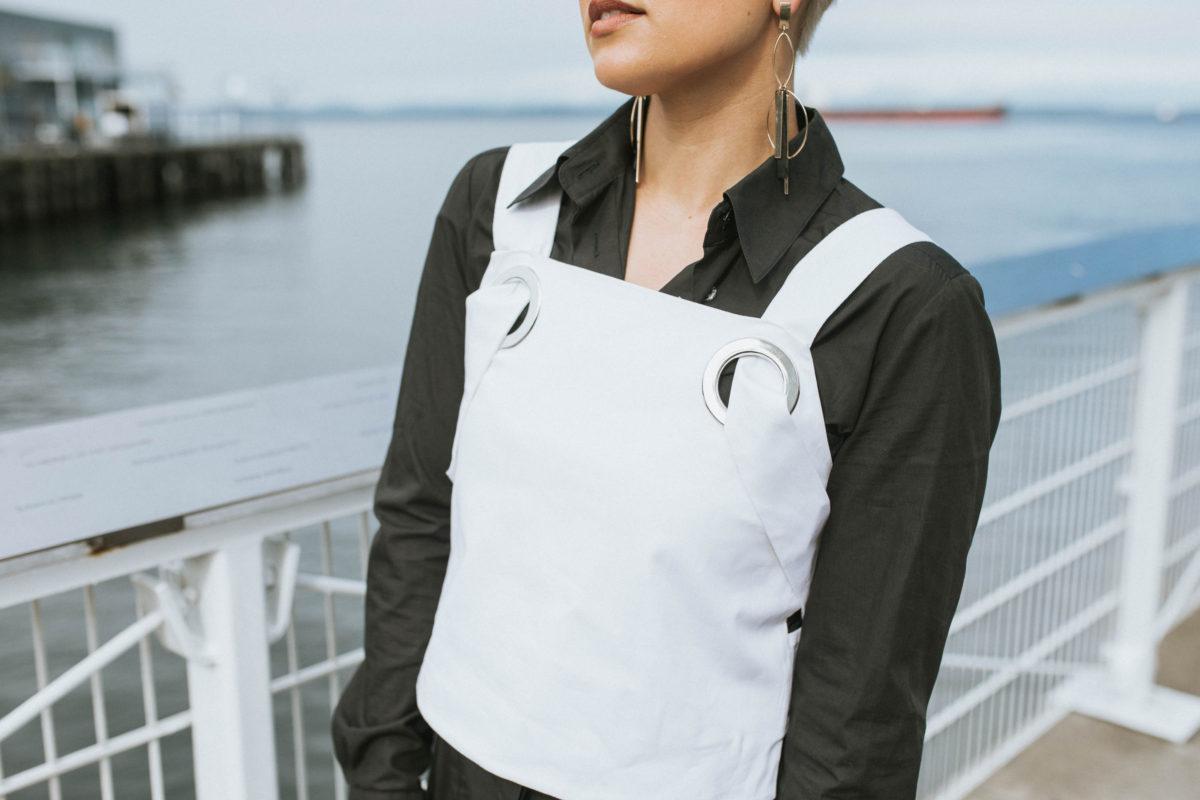 Shirt Dressing: 2 Ways to Create a Multi-Dimensional Look Starting with a Shirt Dress - BloggerNotBillionaire.com