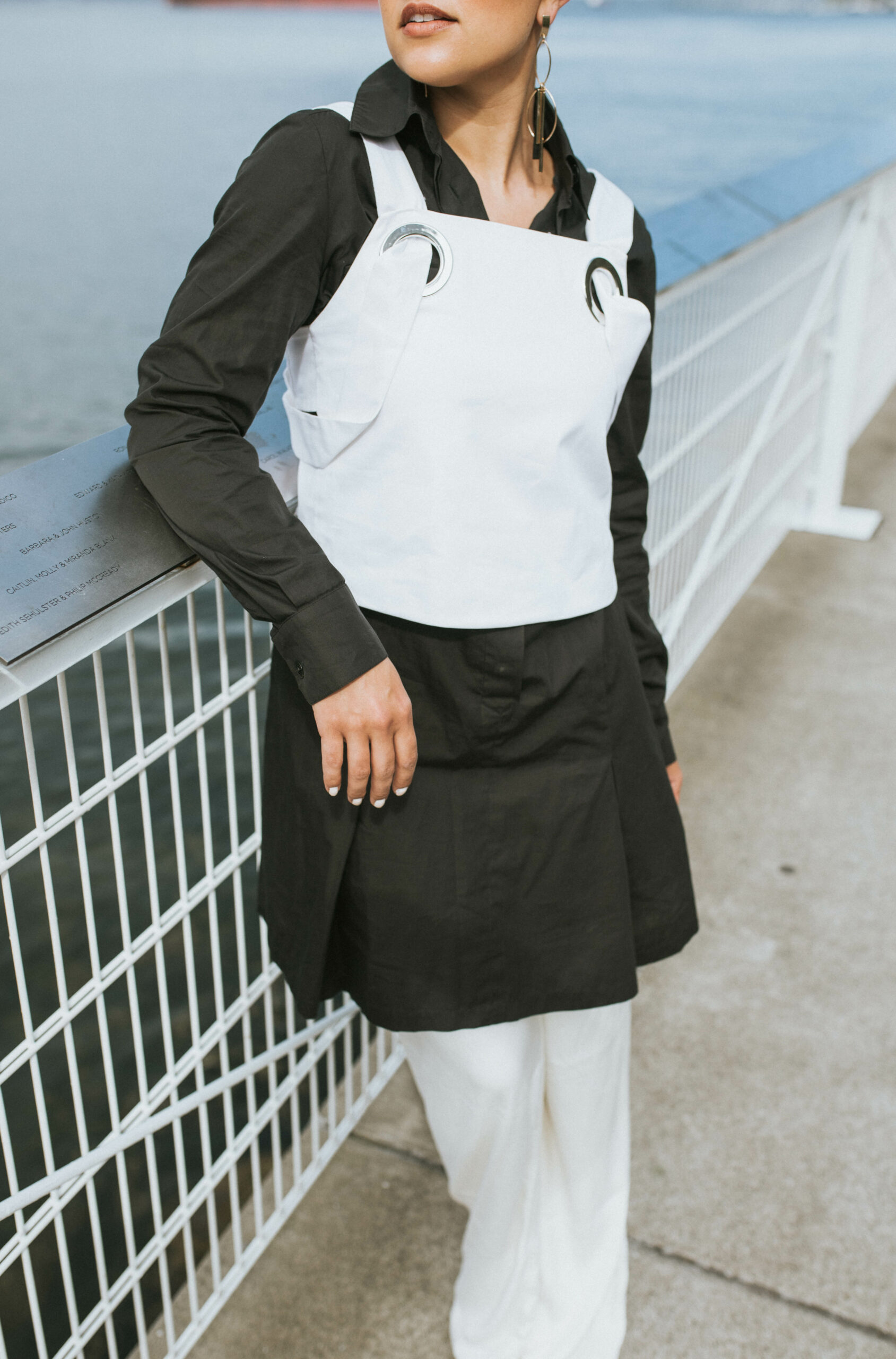 Shirt Dressing: 2 Ways to Create a Multi-Dimensional Look Starting with a Shirt Dress