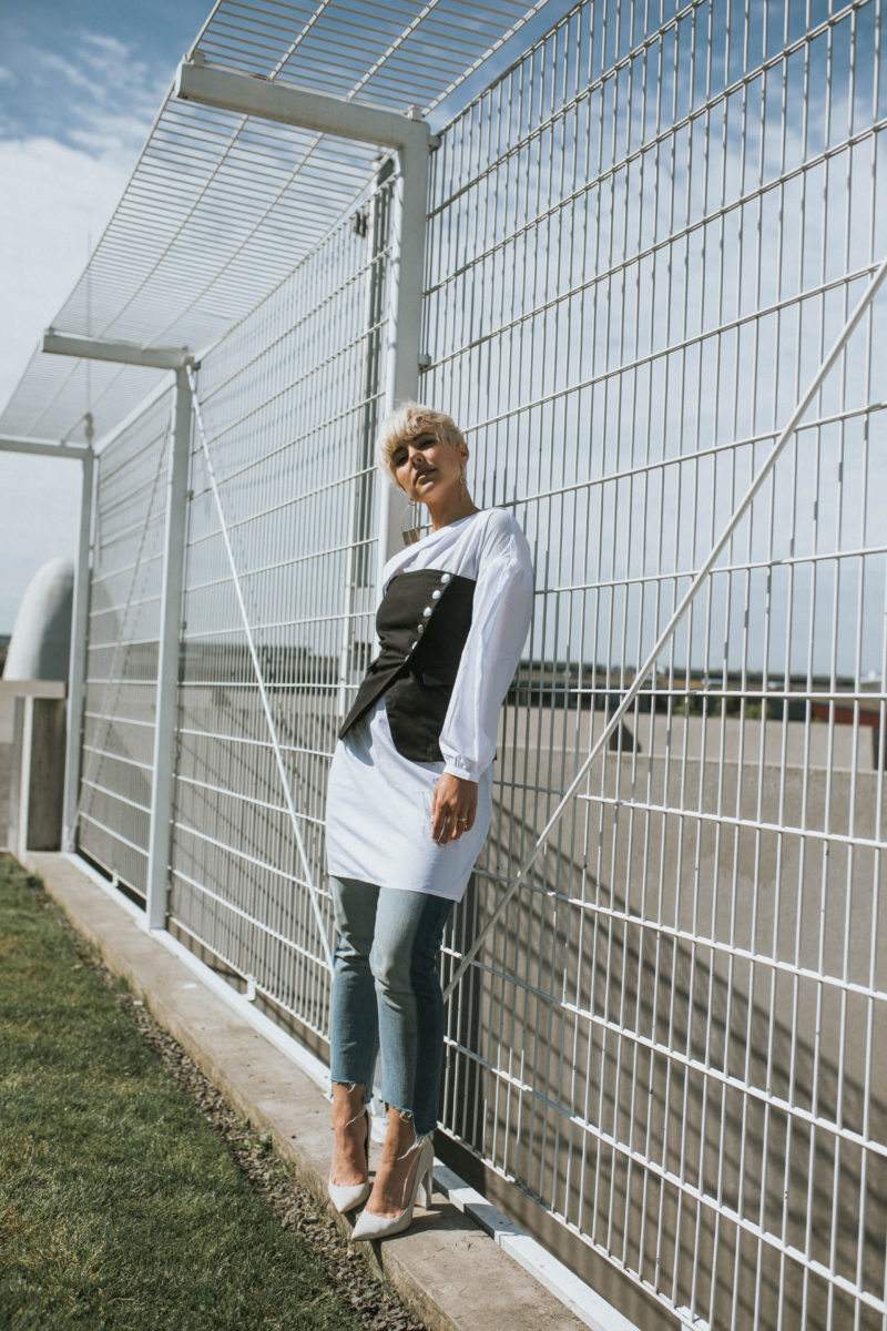 Shirt Dressing: How to Create a Multi-Dimensional Look Starting with a Shirt Dress - BloggerNotBillionaire.com