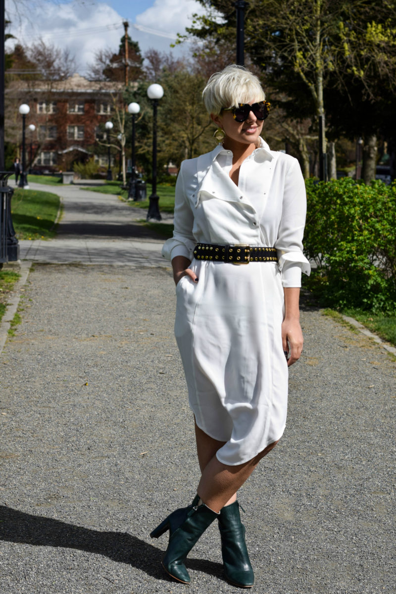 Incorporating Runway Style into Your Everyday look: The Power of the Waist Belt - BloggerNotBillionaire.com
