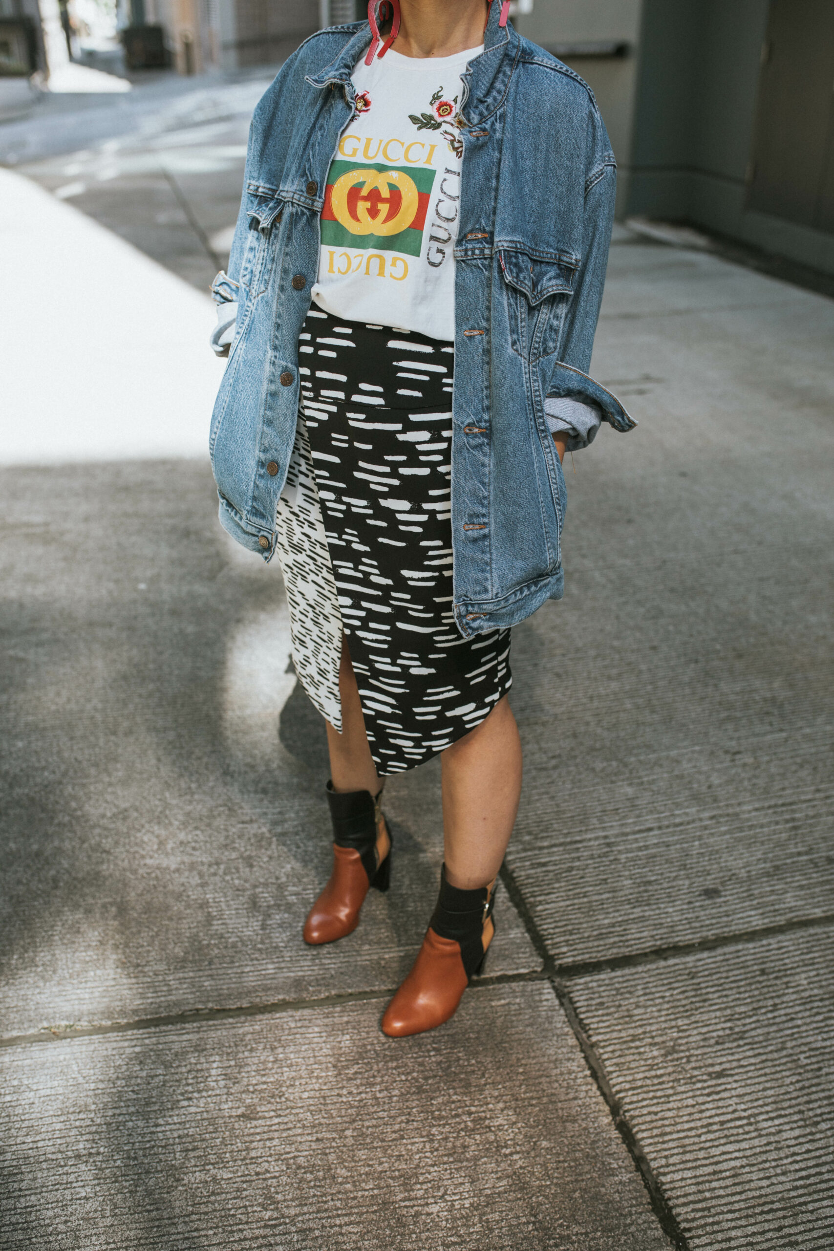 How to Wear Ankle Boots in Summertime - BloggerNotBillionaire.com