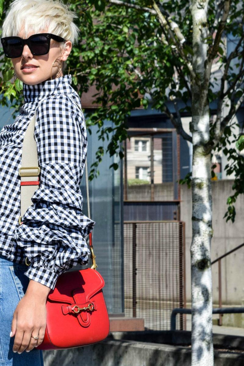 2 Ways to Wear Statement Making Sleeves- Keep it Casual - BloggerNotBillionaire.com